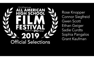 VCA All American High School Film Festival Fall 2019 Official Selections