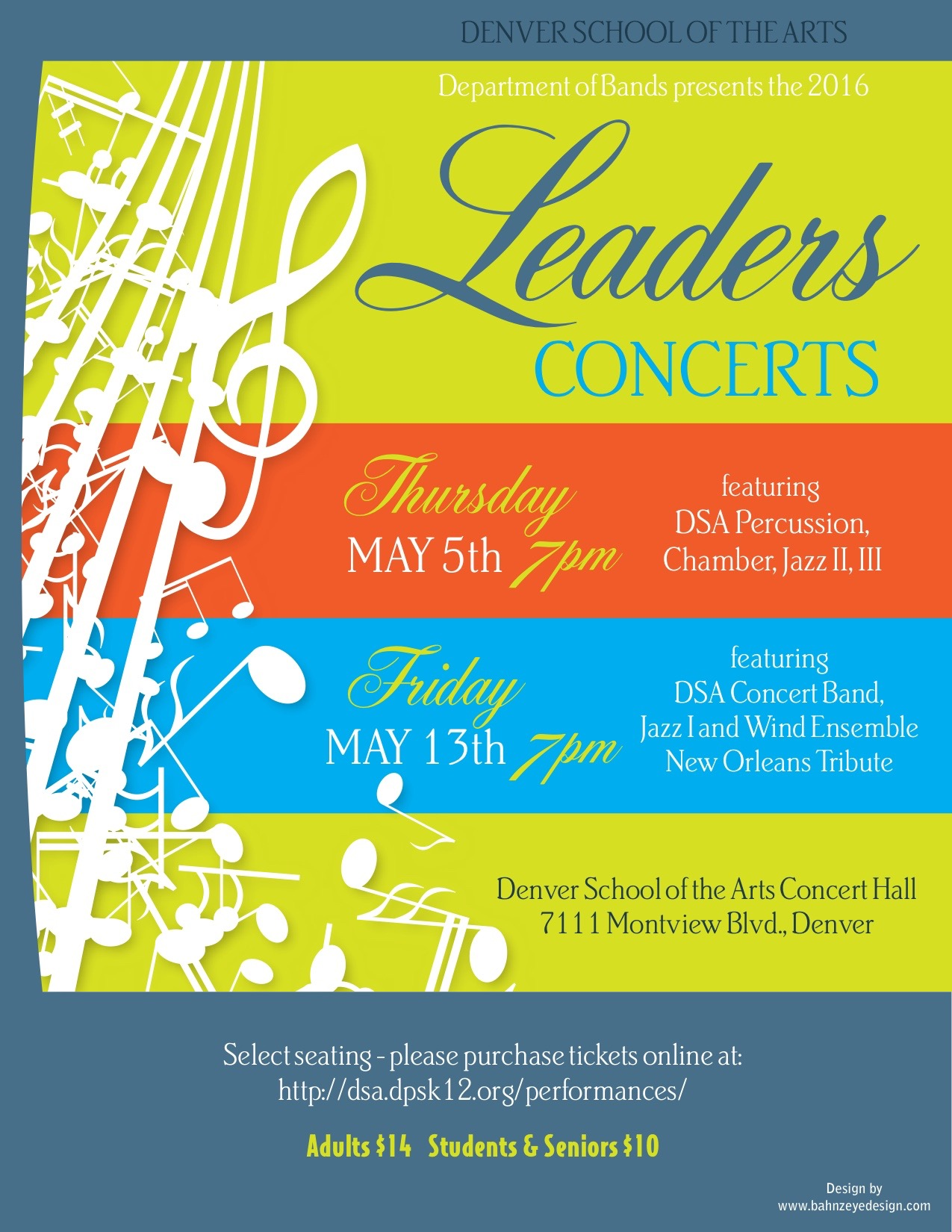 2016 Leaders Concerts