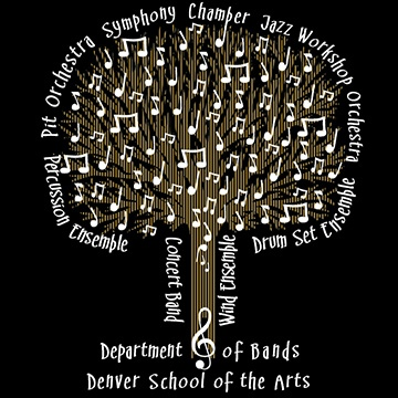 Be part of the tree!  Buy your DSA Band shirt at any school performance!