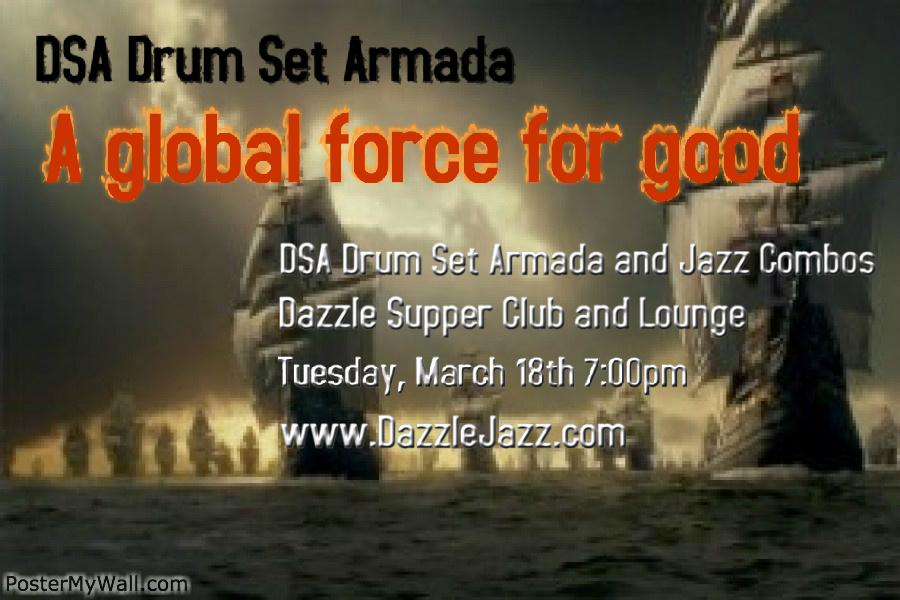 DSA armada march 19th poster