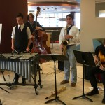 A DSA Combo performs at an accreditation reception at Emily Griffith Technical College.