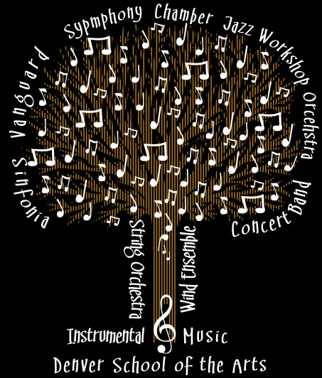 Bands Department Instrumentalmusictshirtdesign
