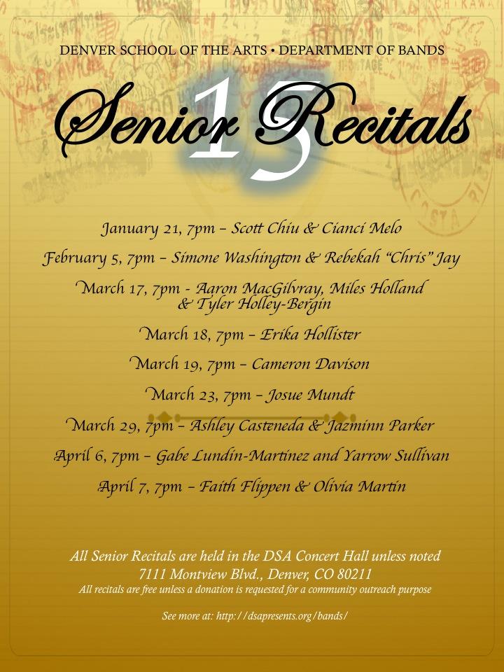 SeniorRecitals2015Poster